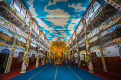 Linh Phuoc pagoda at Da Lat City, Vietnam. Royalty Free Stock Photo
