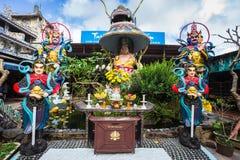 Linh Phuoc pagoda at Da Lat City, Vietnam. Royalty Free Stock Images
