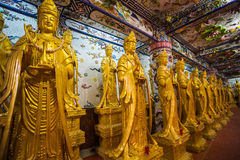 Linh Phuoc pagoda at Da Lat City, Vietnam. Royalty Free Stock Photography