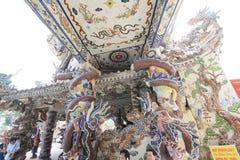 Linh Phuoc Pagoda in Da Lat Royalty Free Stock Image