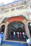 Linh Phuoc Pagoda in Da Lat Royalty Free Stock Photography