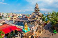 Linh Phuoc Pagoda em Dalat fotos de stock royalty free