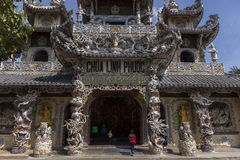 Linh Phuoc Pagoda Royalty Free Stock Photo