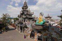Dragon pagoda in Vietnam Stock Photography