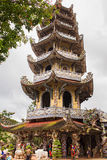 Linh Phuoc porcelain glass Pagoda in Da Lat, Vietnam Royalty Free Stock Photography