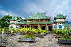 Linh Ung Pagoda Royalty Free Stock Photo