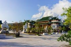 Linh Ung-pagode, Da Nang, Vietnam Stock Afbeelding