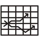 A linha ícone isolado de Tac Toe do tique pode facilmente ser alterada e editado ilustração do vetor