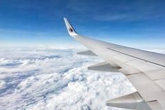 Linha aérea Boeing 747/777 de Malásia Foto de Stock