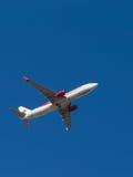 Linha aérea bonita Air Algerie dos aviões Imagem de Stock Royalty Free