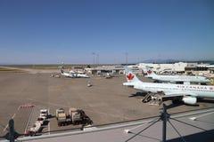 A linha aérea de Air Canada é a linha aérea a mais importante em Canadá Fotos de Stock Royalty Free