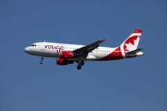 Linha aérea de Air Canada Fotografia de Stock
