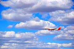 Linha aérea dos passangers fotos de stock