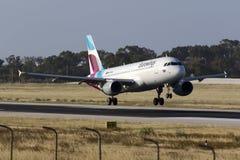 Linha aérea nova de Eurowings Fotografia de Stock