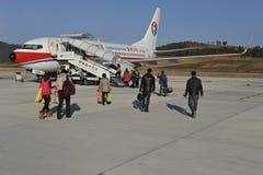Linha aérea oriental de China Foto de Stock Royalty Free