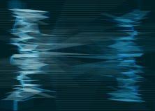 Linha abstrata fundo - azul Imagem de Stock