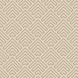Linha abstrata setas teste padrão, vetor Imagens de Stock Royalty Free
