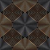 Linha abstrata teste padrão sem emenda vertical da folha ilustração royalty free