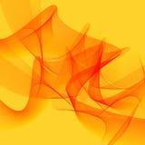 Linha amarela abstrata projeto do fundo da arte Imagem de Stock