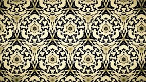 Linha amarela e azul preta abstrata papel de parede Imagem de Stock Royalty Free