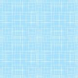 A linha azul abstrata matéria têxtil retro da tela textured o fundo sem emenda do teste padrão Imagens de Stock Royalty Free