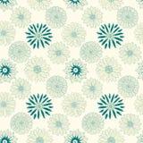 Linha bonita flores Imagem de Stock