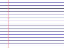 Linha branca textura do papel Fotografia de Stock Royalty Free