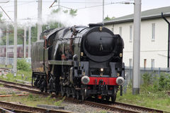 Linha britânica louco da Índia do vapor que submete-se a testes Fotos de Stock