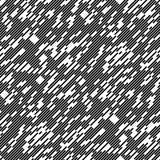 Linha caótica diagonal sem emenda teste padrão Imagens de Stock Royalty Free