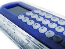 Linha calculadora Imagem de Stock