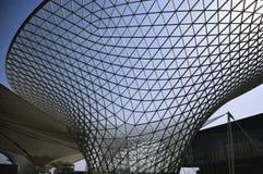 Linha central 2010 da expo de Shanghai fotografia de stock
