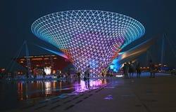 Linha central 2010 de Shanghai da expo do mundo Imagens de Stock Royalty Free
