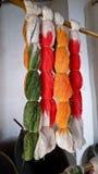 Linha, colorida Fotografia de Stock