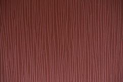 Linha cor-de-rosa textura no fundo de creme Fotos de Stock