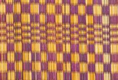 Linha cor velha do uso da esteira do papiro para o fundo foto de stock