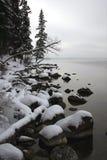 Linha costeira #1 de novembro Fotografia de Stock