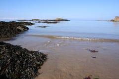 Linha costeira Fotografia de Stock