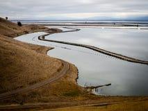 Linha costeira da fuga de Bayview no parque regional dos montes do chacal fotografia de stock