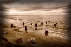 Linha costeira da ilha de Sullivans Fotografia de Stock
