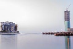 Linha costeira de Barém Imagem de Stock Royalty Free