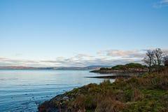 Linha costeira de Jura Fotos de Stock