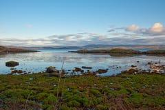 Linha costeira de Jura Fotos de Stock Royalty Free