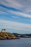 Linha costeira de Terra Nova Foto de Stock Royalty Free