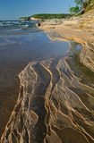 Linha costeira do superior de lago Foto de Stock Royalty Free