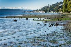 Linha costeira e ponto 2 Fotos de Stock Royalty Free