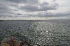 Linha costeira irlandesa Fotos de Stock