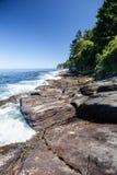 Linha costeira olímpica 2 da península Fotografia de Stock Royalty Free