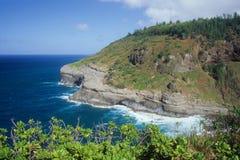 Linha costeira oriental de Kauai Imagens de Stock