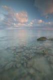 Linha costeira rochosa Fotografia de Stock Royalty Free
