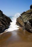 Linha costeira rochosa Imagem de Stock